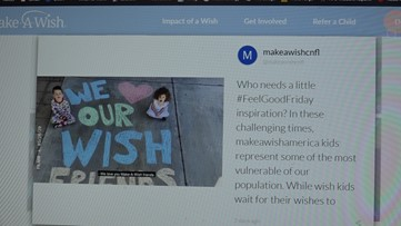 Coronavirus: Make-A-Wish Foundation pauses wish trips, asks community to send messages of hope
