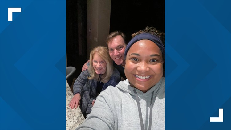 'Part of the family' | Strangers welcomed Austin delivery driver into their home after her car got stuck in winter storm