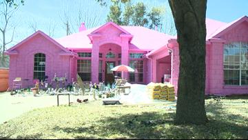 Pink house raising brows in Pflugerville neighborhood