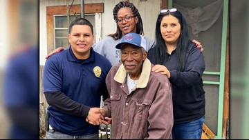 Austin WWII vet who was using stove as heater thankful for donations, creates wish list