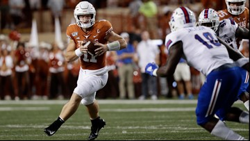 LSU fans are blowing up Sam Ehlinger's phone after his number was leaked online