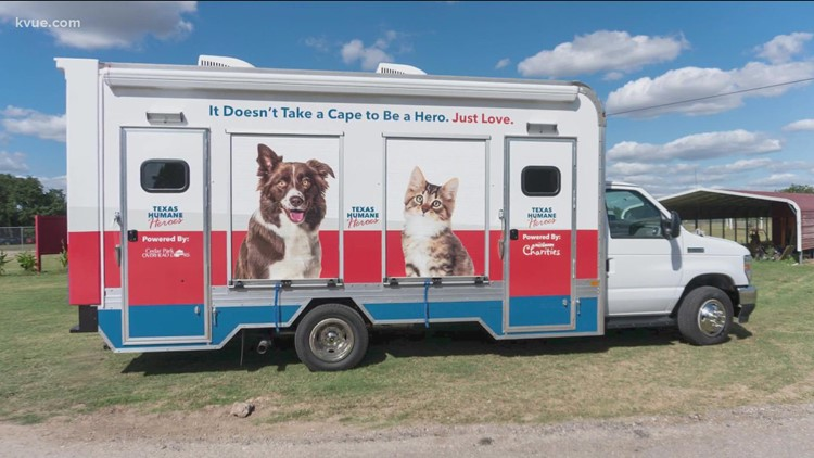 Texas Humane Heroes launches mobile adoption unit