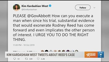 Kim Kardashian West visits Texas death row inmate Rodney Reed days before scheduled execution