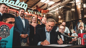 Texas governor signs bill allowing breweries to sell beer to-go