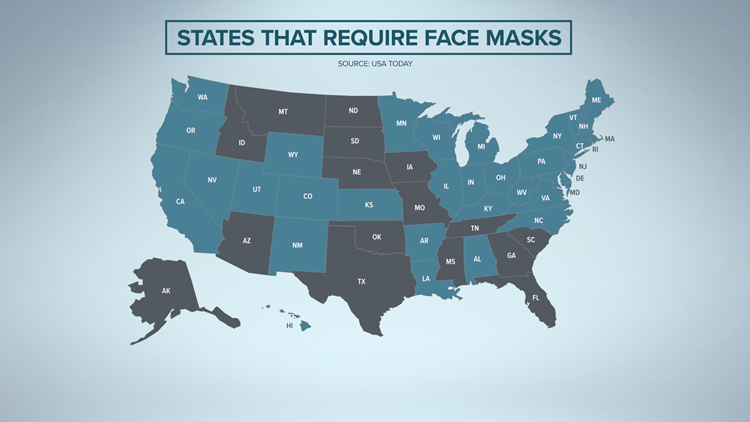 Texas to join 15 US states without statewide mask mandates