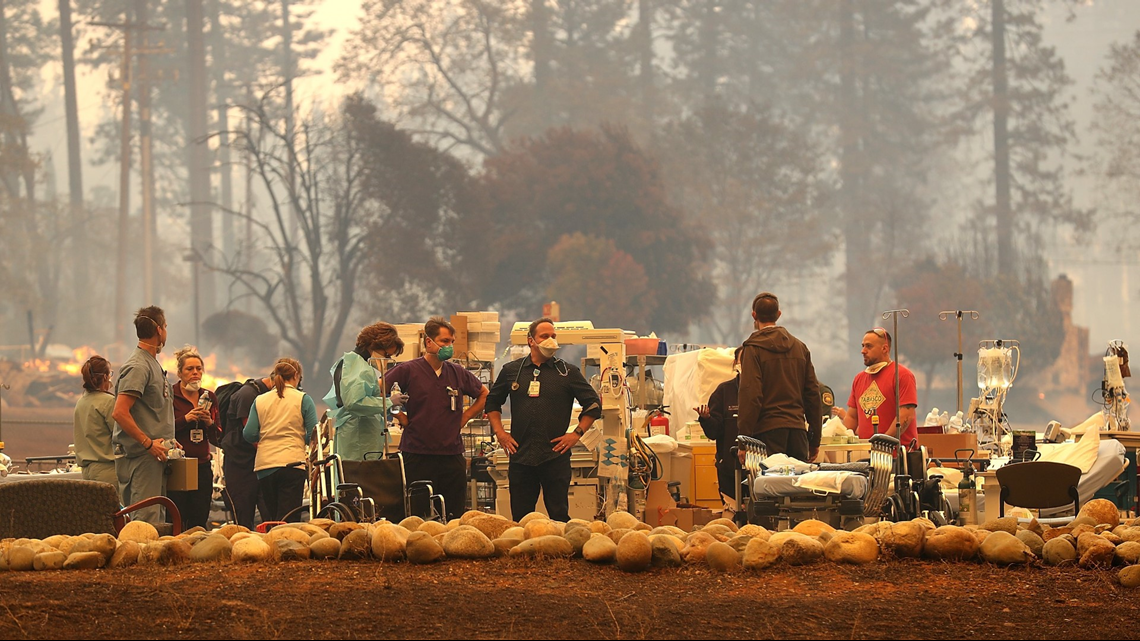 Nurse describes life-threatening situation as Camp Fire forces hospital to evacuate twice