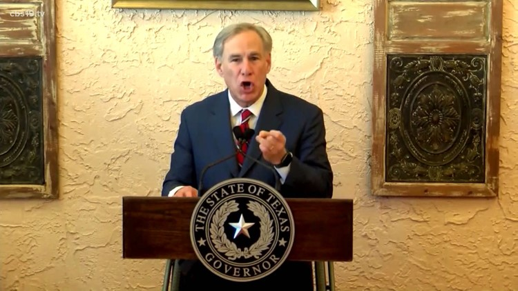 Gov. Abbott says Biden administration is releasing undocumented immigrants with COVID into Texas communities