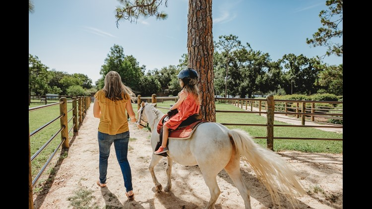 Pony rides at Fort Wilderness (Photo by Melissa Ann Photography for The Points Guy)