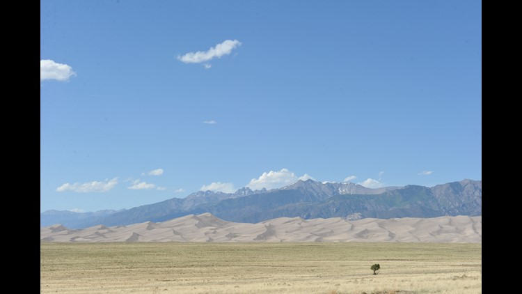 Colorado's Great Sand Dunes National Park and Preserve. (Photo by Darren Murph / The Points Guy)