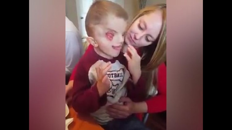 <p>This is the story of a brave little boy who is beating all odds.</p>