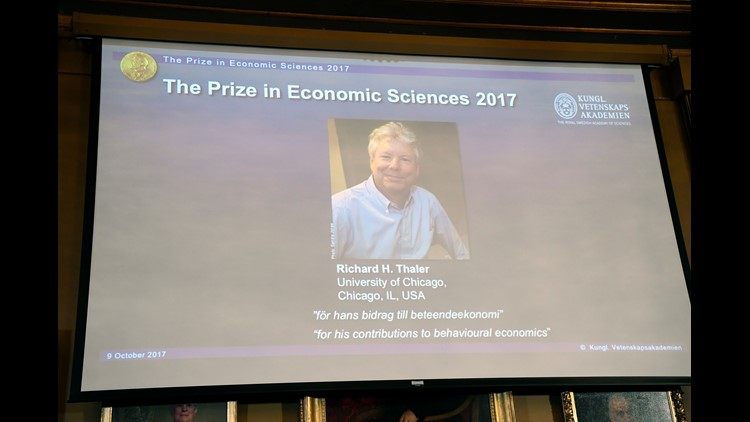 """The prize was awarded for """"understanding the psychology of economics."""""""