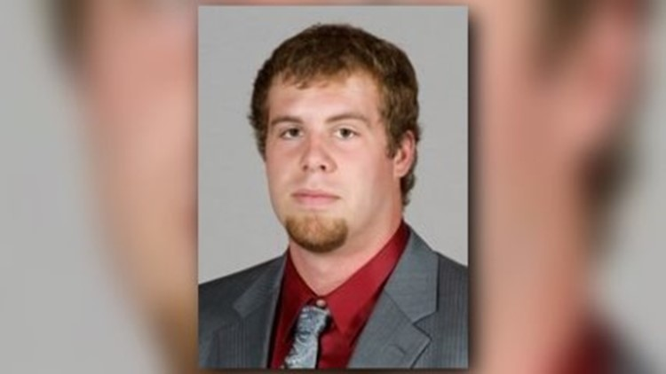 Jason Seaman, a Noblesville West Middle School teacher who intervened in a school shooting Friday, formerly played football at Southern Illinois University. (Photo: Photo provided by Southern Illinois University)