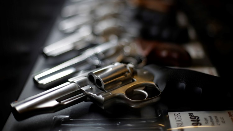 Gun sales in US spike to record highs in 2020 and 2021, data suggests