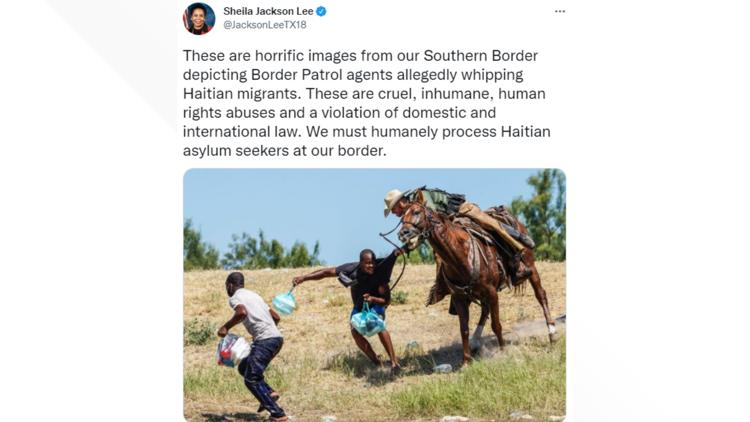 Horse patrols temporarily suspended at Del Rio on Texas border