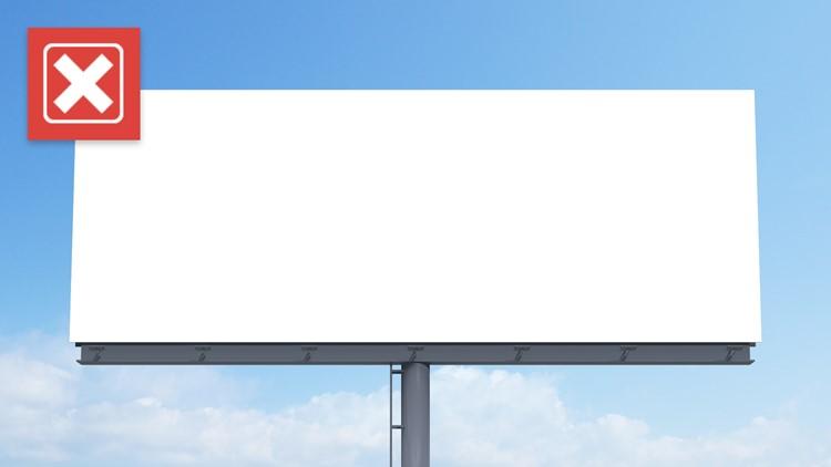 No, the viral 'defend billionaires' Elon Musk billboard isn't real