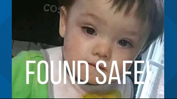 TBI cancels Endangered Child Alert after missing Putnam County toddler found safe