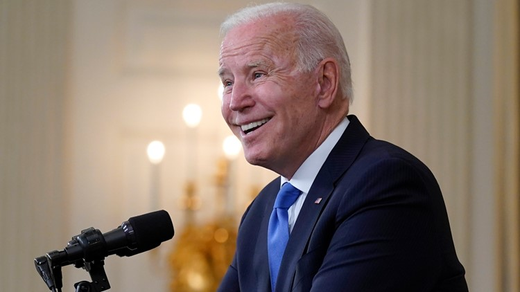 Biden hits 63% approval rating in new poll
