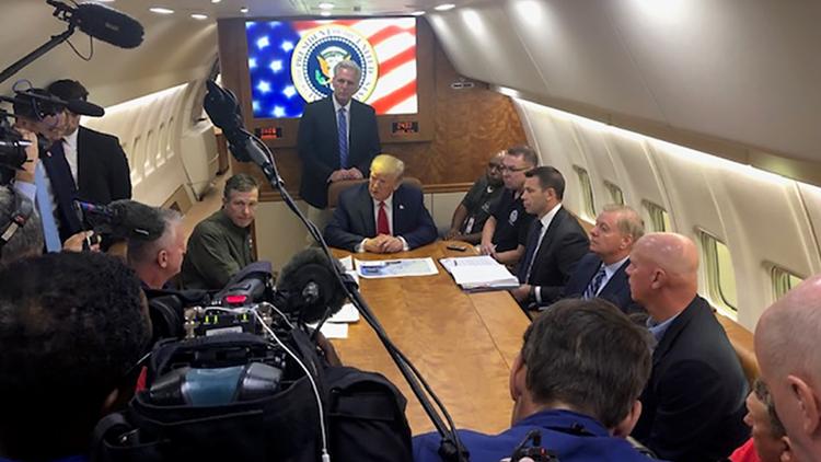 Trump briefing in Havelock, N.C.