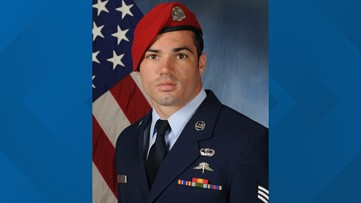 Texas family mourns airman who went missing during training accident