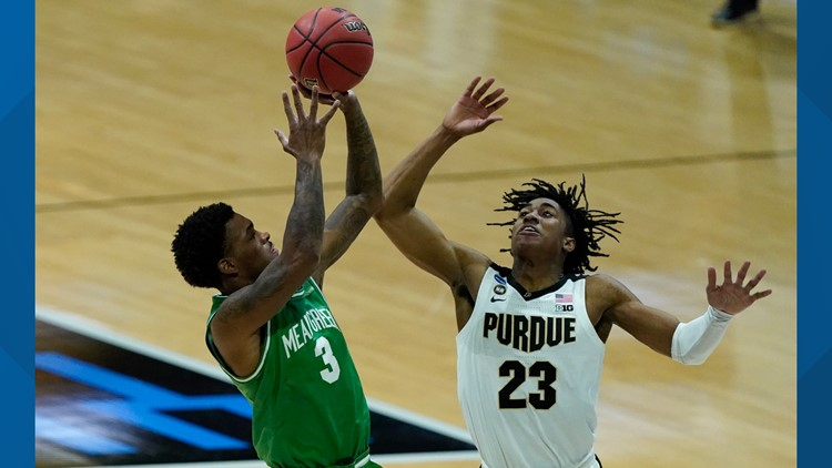 No. 13 UNT upsets 4th-seeded Purdue to earn first-ever NCAA Tournament win