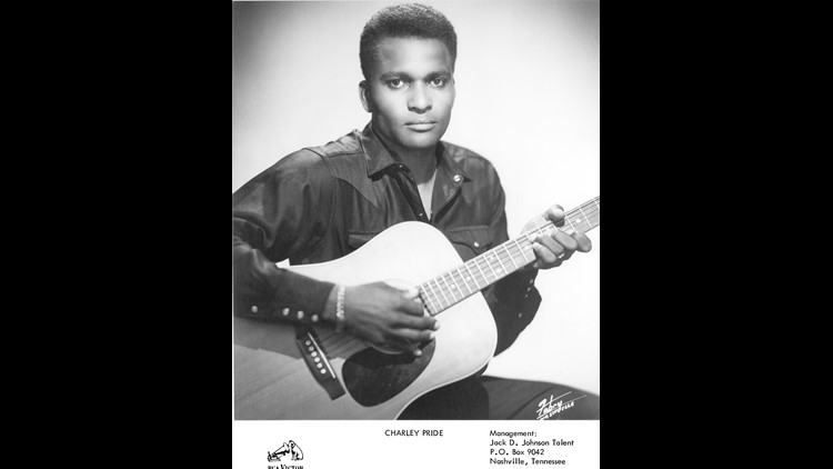 Charley Pride in the 1960s