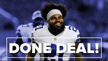 'Zeke Watch' is finally over. Cowboys Ezekiel Elliott agrees to 6-year $90M extension