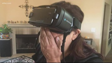 McKinney woman uses vision goggles to see Christmas tree for the first time in nearly 13 years