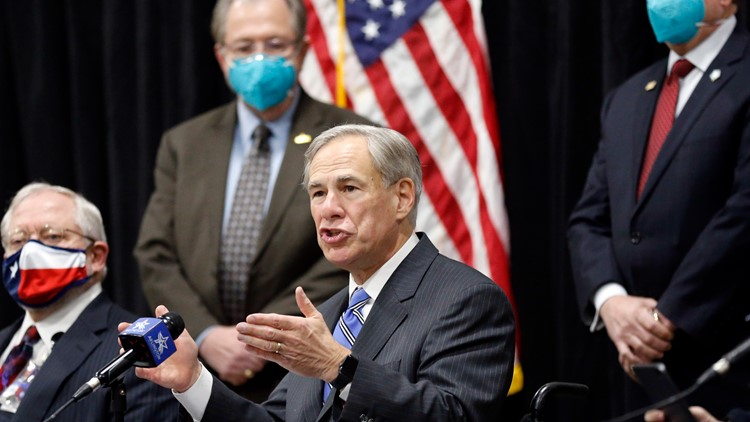 'Opening Texas 100%': Gov. Abbott rescinds statewide face mask order, business restrictions