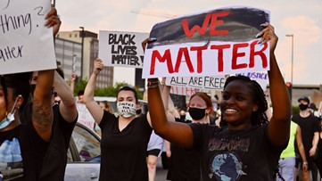 Fifth day of protests in North Texas sees curfew zone extensions, more police and protester dialogue