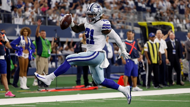 Cowboys overcome slow start, cruise past Giants to improve to 4-1