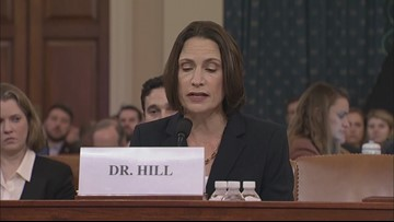 Fiona Hill denounces 'fictional' Ukraine election interference in impeachment hearing opening statement