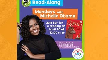 Mondays with Michelle Obama: Former First Lady to host virtual storytime for kids every Monday, PBS confirms