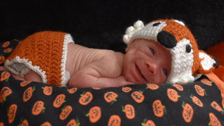 Cuteness Alert | UofL Health NICU babies show off their very first Halloween costumes