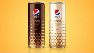 Pepsi is launching a new, coffee-infused cola