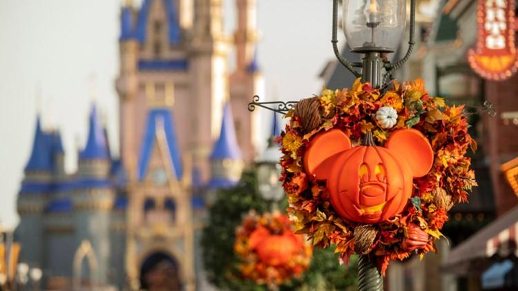 Falling for Magic Kingdom: Walt Disney World announces return of autumn decor, snacks, theming