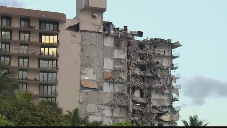 Miami-Dade Police, Gov. DeSantis hold briefing on Miami-area condo collapse; 4 dead and 159 still unaccounted for