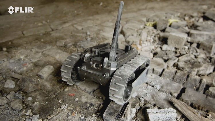 Robots ready to search rubble for survivors in Surfside condo collapse