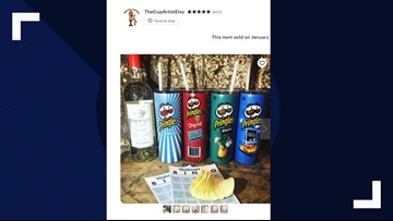 Yes -- Pringles wine tumblers are a thing