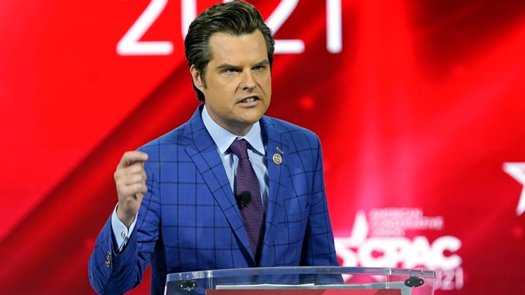 Amid federal probe, Rep. Matt Gaetz set to give keynote speech at women's conservative group summit in Florida