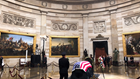 Alone in the Rotunda, with John McCain