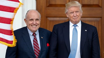Trump says Giuliani wants to give information on Ukraine to Barr, Congress