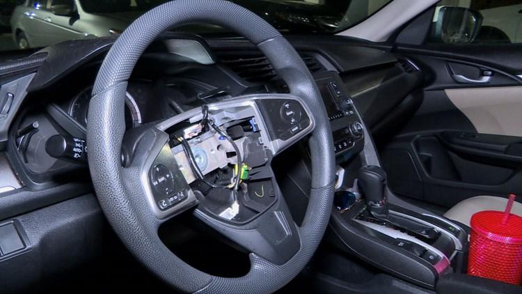 Airbag stolen in Fairfax County