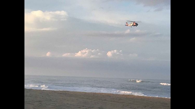 Coast Guard suspends search for 4-year-old in OBX after wave swept him away
