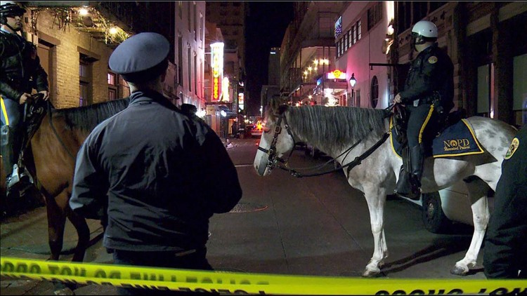 Nine wounded, one killed in Bourbon Street mass shooting