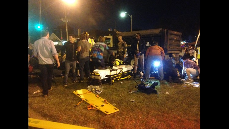 28 injured after driver slams pickup into crowd watching Endymion parade
